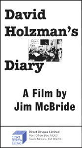 David Holzman's Diary (16mm)