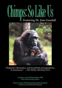 Chimps: So Like Us (DVD)
