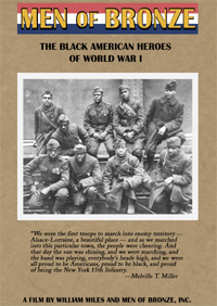 Men of Bronze: The Black American Heroes of World War I (VHS)