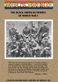 Men of Bronze: The Black American Heroes of World War I (VHS)